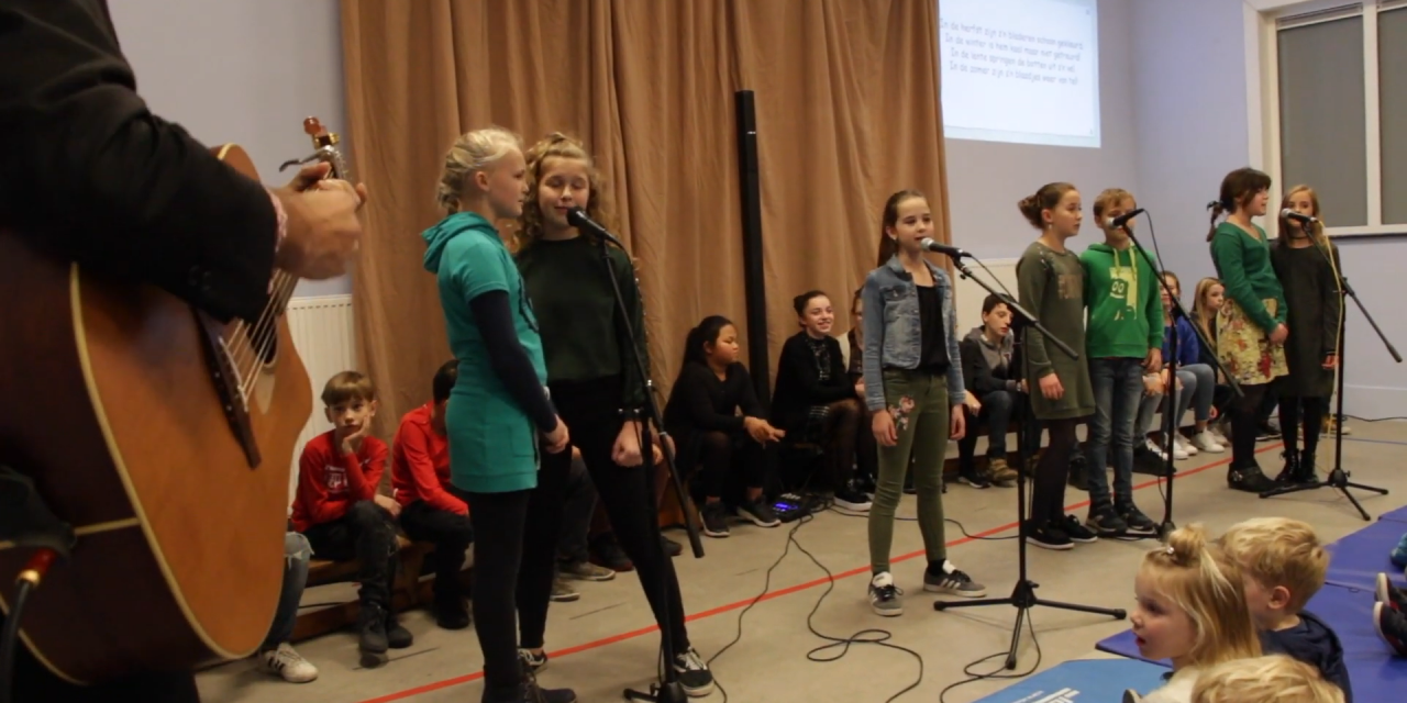 """Workshop verhalen in """"Onze School"""" Wolfsdonk"""